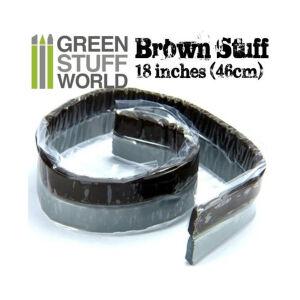 Brown Stuff Modelliermasse Rolle 46 cm - 18 Zoll