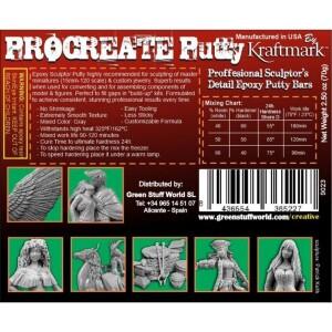 ProCreate Modelliermasse 70 gr