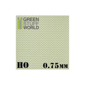 ABS Plasticard - DIAMOND HO 0.75mm