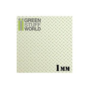 ABS Plasticard - DIAMOND 1mm