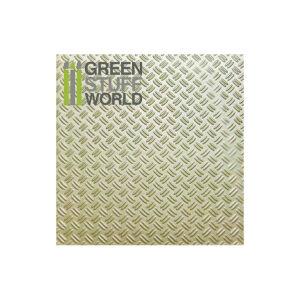 ABS Plasticard - DOUBLE DIAMOND Textured Sheet - A4