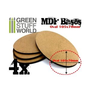 105x70mm AOS oval MDF Basen