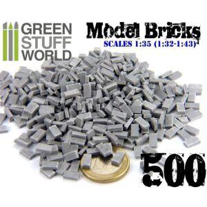 Ziegelsteine - Grau x500