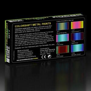 Chamäleon-Metallfarben Farben Set 3