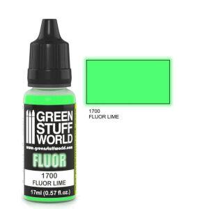 Fluor Farbe LIMETTE