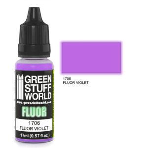 Fluor Farbe VIOLETT