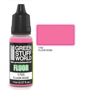 Fluor Farbe ROSA