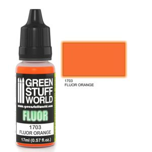 Fluor Farbe ORANGE