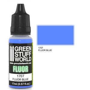 Fluor Farbe BLAU