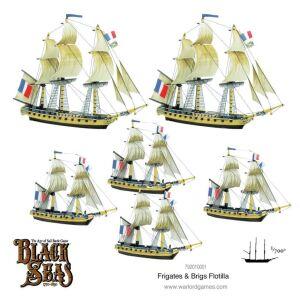 Frigates & Brigs Flotilla (1770 - 1830)