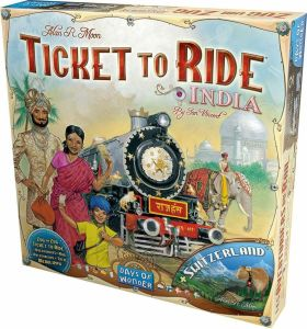 Ticket to Ride - Map Collection 2: India + Switzerland engl.