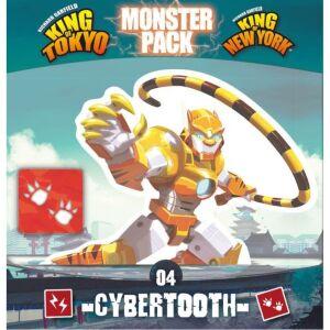 King of Tokyo Monsterpack: Cybertooth dt.
