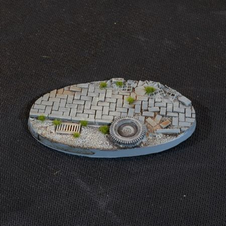 Ovale Urban Warfare Bases 90mm (x2)