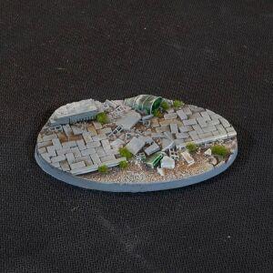 Ovale Urban Warfare Bases 90mm (x2)