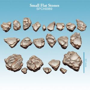 Small Flat Stones