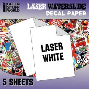 Decal Folie - Laserdrucker Weiss