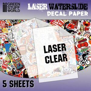 Decal Folie - Laserdrucker Transparent