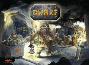 Dwarf board game dt. engl.
