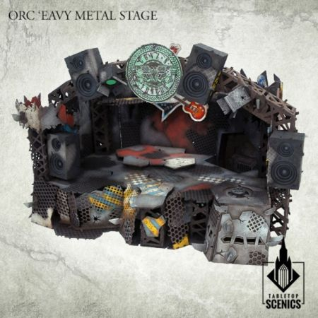 Orc Eavy Metal Stage