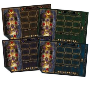 The Everrain: Neoprene player dashboards - Set of 4 mats