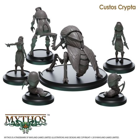 The Custos Crypta Faction Starter Set