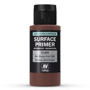 Surface Primer German Red Brown RAL8012 60ml