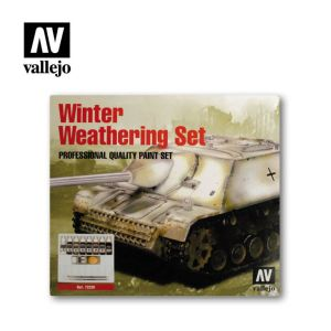 Vallejo Model Color: Winter Weathering Set