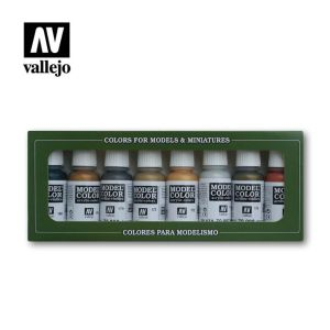 Model Color: Set: Metallic Colours (8 Farben)