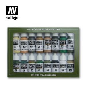Model Color: Set 09: WWII Allied Colours (16 Farben)
