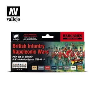 Model Color: British Infantry Napoleonic Wars Paint Set (6)