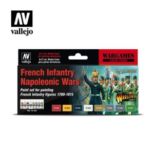 Model Color: French Infantry Napoleonic Wars Paint Set