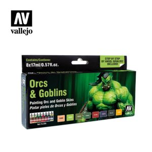Game Color Set: Orcs & Goblins (8)