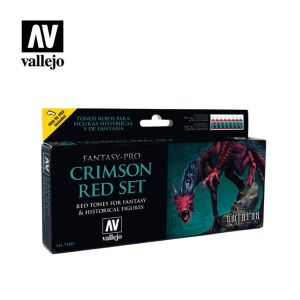 Model Color Set Fantasy-Pro Crimson Red (8)