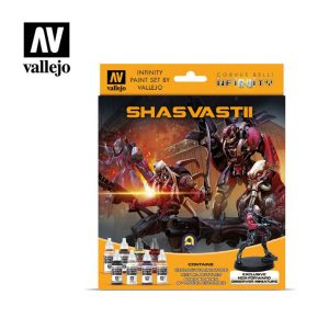 Infinity Shasvastii Exclusive Miniature Paint Set