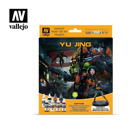 Infinity Yu Jing Exclusive Miniature Paint Set