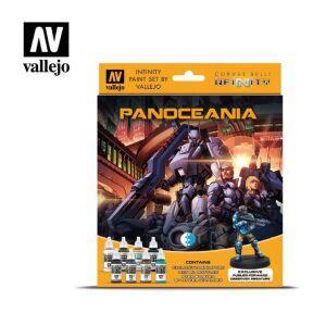 Infinity Panoceania Exclusive Miniature Paint Set