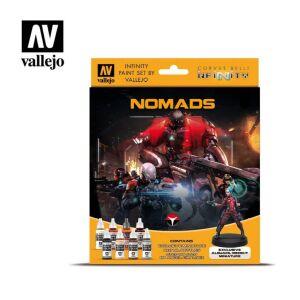 Infinity Nomads Exclusive Miniature Paint Set