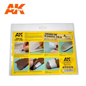 AK Airbrushing Masking Film (2 units)