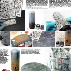 Flexible Airbrush Stencil 1-20 1-24 1-35