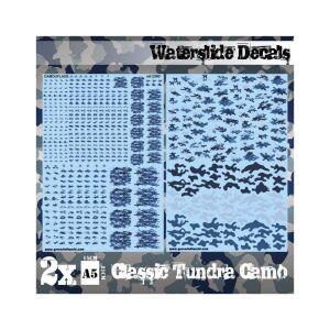 Wasserschiebe Abziehbilder - Klassische Tundra-Tarnung