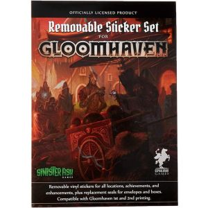 Gloomhaven - Removable Sticker Set engl.