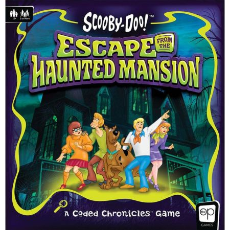 Scooby-Doo: Escape from the Haunted Mansion - A Coded Chronicles Game engl.