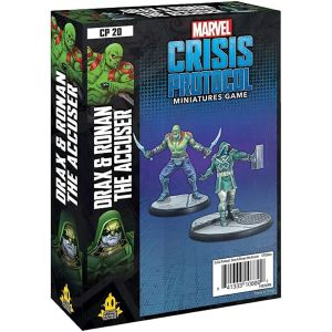Marvel Crisis Protocol: Drax and Ronan The Accuser engl.