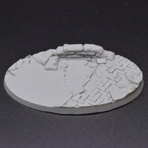 Urban Warfare Resin Bases Oval 105mm (x1)