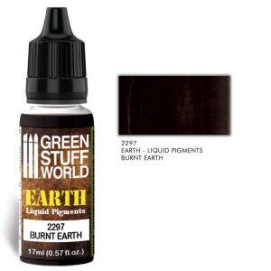 Flüssige Pigmente Burnt Earth