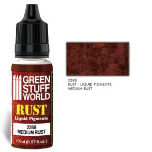 Flüssige Pigmente Medium Rust