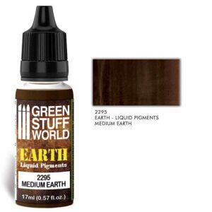 Flüssige Pigmente Medium Earth