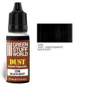 Flüssige Pigmente Black Soot