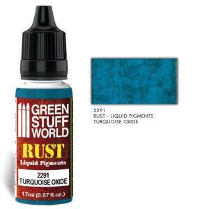 Flüssige Pigmente Turquoise Oxide