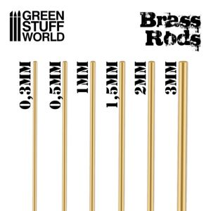 Messing Rund-Profil 0.3mm